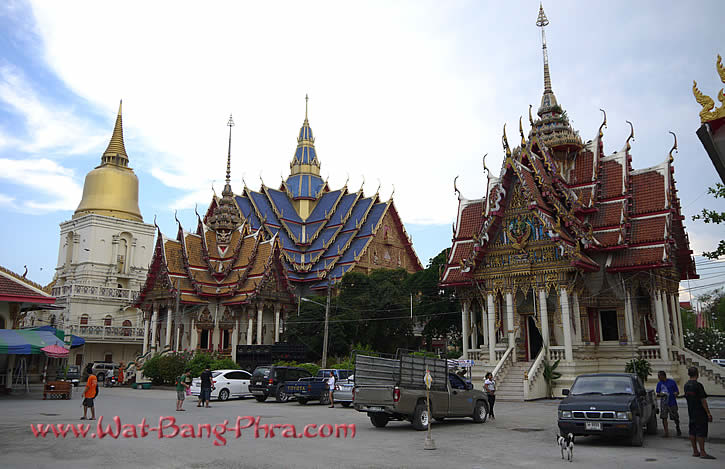 Temple Complex of Wat Bang Phra