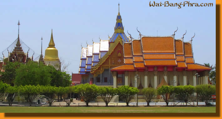 Home of Luang Pi Nunn, the holy Tattoo monk