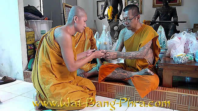 Sak Yant Tattoo needle blessed by monk