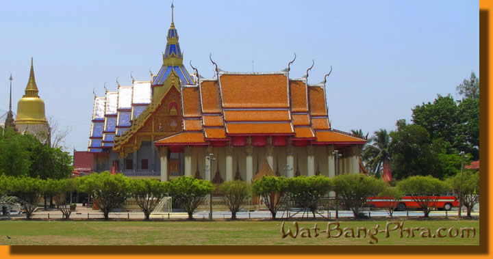 Wat Bang Phra Magic sacred Sak Yant Tattoo temple in Thailand